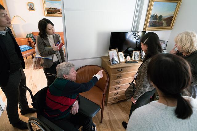 デンマークの高齢者福祉政策を学ぶ、高齢者福祉施設視察ツアー