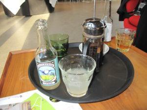 デンマークでは、オーガニックのラズベリーやブルーベリーや エルダーフラワーのジュースが楽しめます!