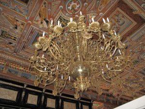 日本の皇室ともゆかりの深い、フレデリクスボー城の大広間