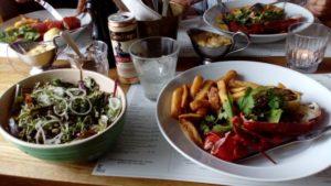 海に囲まれたデンマークでは、魚介類のお料理も(日本ほどではないですが。。。)豊富です。