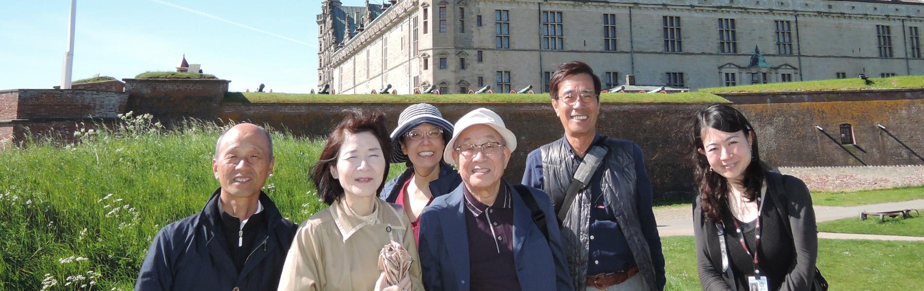 日本人のデンマーク公認 ライセンスガイドが、 お客様だけの特別な旅をサポート